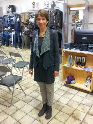 Modeschau im Lüthi Markt